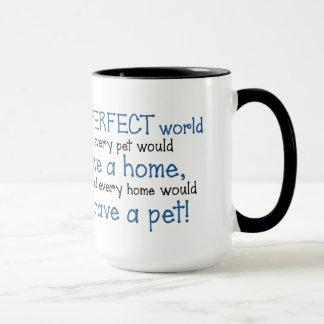 BowWow and MeeYow (Pet Adoption-Humane Treatment) Mug