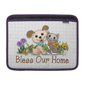 BowWow and MeeYow (Pet Adoption-Humane Treatment) Sleeve For MacBook Air