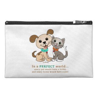 BowWow and MeeYow (Pet Adoption-Humane Treatment) Travel Accessory Bag