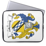 Bowyer Family Crest Laptop Sleeves