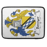 Bowyer Family Crest MacBook Pro Sleeves