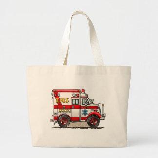 Box Ambulance EMS EMT Emergency Jumbo Tote Bag
