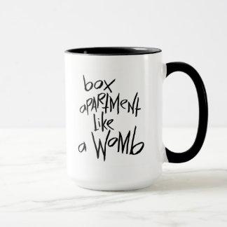 Box Apartment Like A Womb Mug