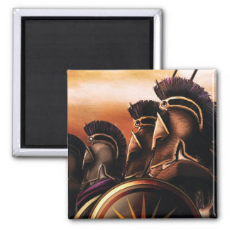 Box Art 2 Inch Square Magnet