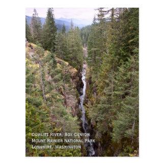 Box Canyon Postcard