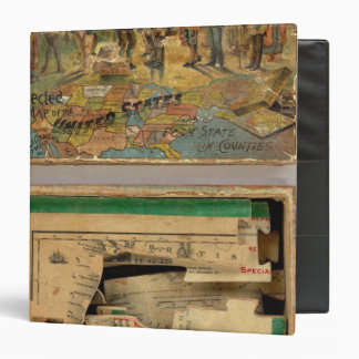 Box Dissected map, United States Binder