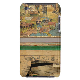 Box Dissected map, United States iPod Touch Case