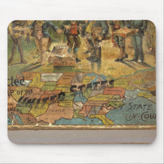 Box Dissected map, United States Mouse Pad
