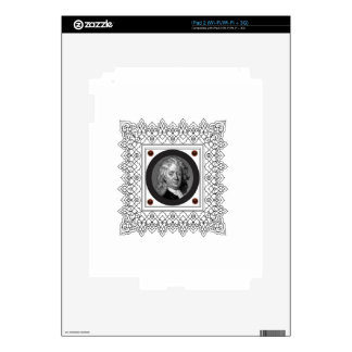 box frame in decal for the iPad 2