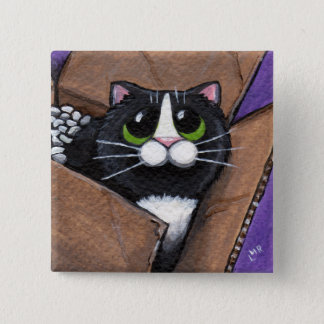 Box Full O Cat Button