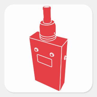 Box Mod Surprise Square Sticker