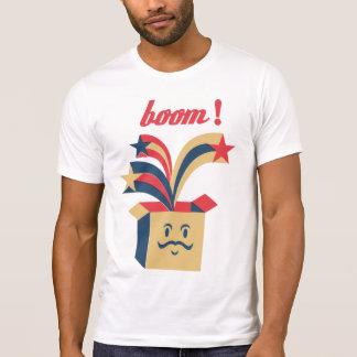 Box Moustaches T-Shirt