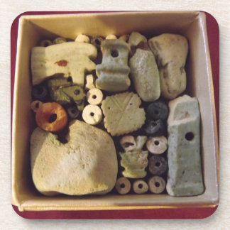 BOX OF ANCIENT EGYPTIAN AMULETS Coasters