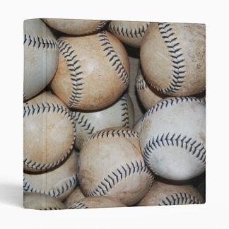 Box of Baseballs Binder