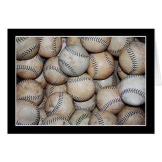 Box of Baseballs Card