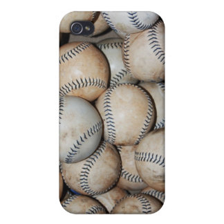 Box of Baseballs Case For iPhone 4
