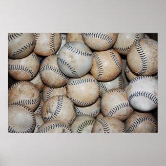 Box of Baseballs Print