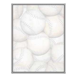 Box of Baseballs (Softballs) Letterhead