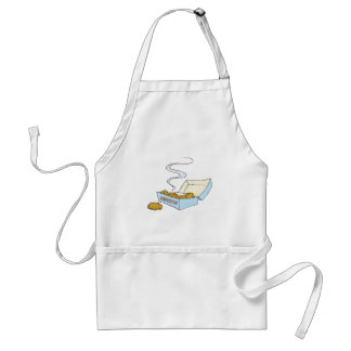 box of chicken nuggets adult apron
