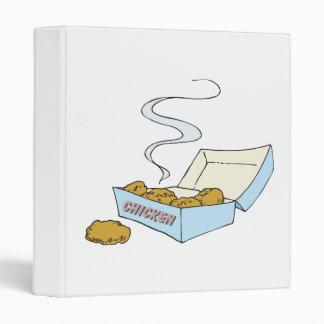 box of chicken nuggets binder
