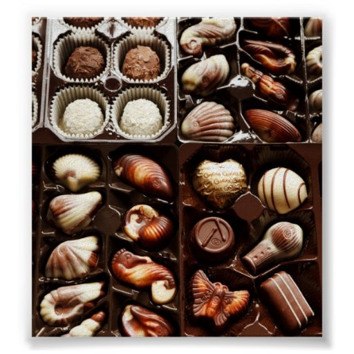 Box of Chocolate Posters