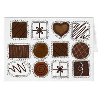 Box of Chocolates Candy Valentine's Day Card
