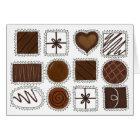 Box of Chocolates Candy Valentine's Day Chocoholic Card