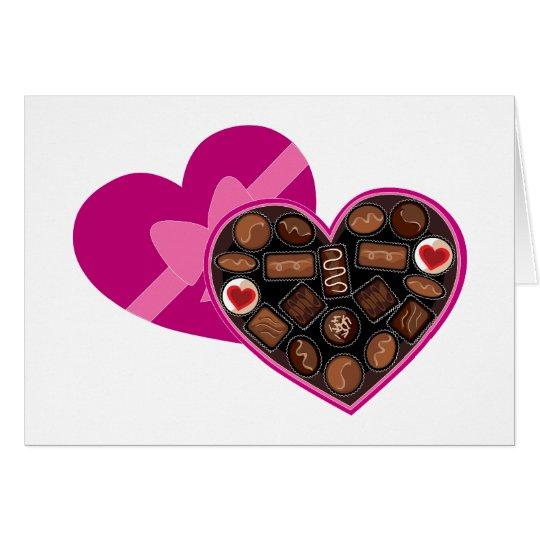Box of Chocolates Card
