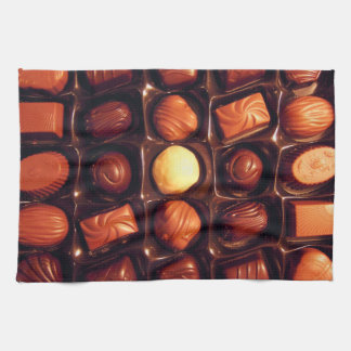 Box of Chocolates Patterned Towel