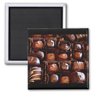 Box of Chocolates, Tempting Chocolate Candy Magnets