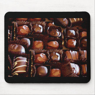 Box of Chocolates, Tempting Chocolate Candy Mouse Pad