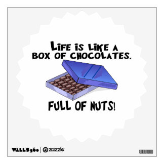Box Of Chocolates Wall Sticker