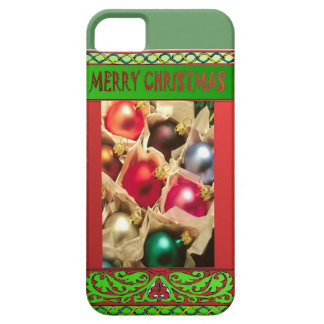 Box of Christmas balls iPhone SE/5/5s Case