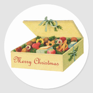 Box Of Christmas Cookies Stickers