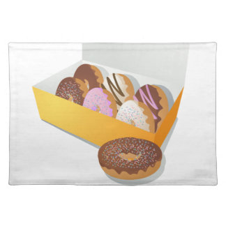 Box of Donuts Placemat