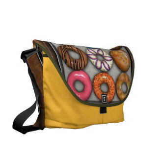 Box of Doughnuts Courier Bag