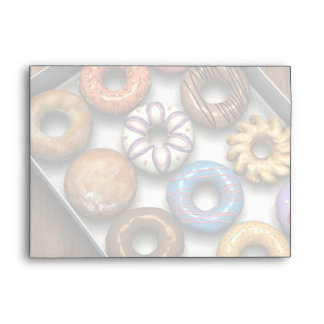 Box of Doughnuts Envelope
