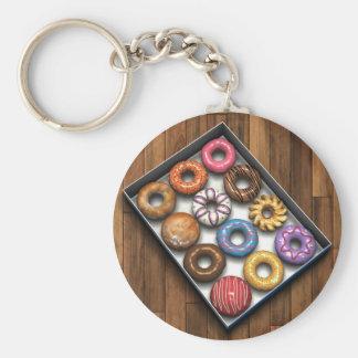 Box of Doughnuts Keychain