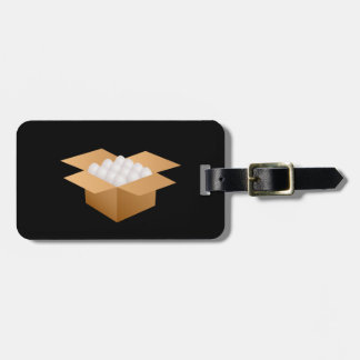 Box Of Eggs Luggage Tags
