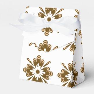 Caja de Regalo - Flor001 Paquete De Regalo Para Fiestas