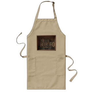 box of ho ho ho's long apron