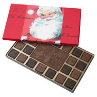 Box of Holiday Chocolate Personalizable Gift