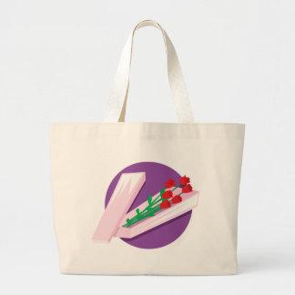 Box of Roses Jumbo Tote Bag