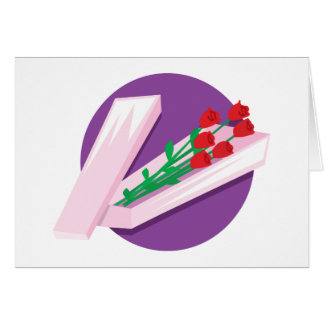 Box of Roses Greeting Cards