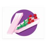 Box of Roses Postcard