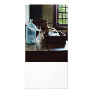Box of Test Tubes Photo Card Template