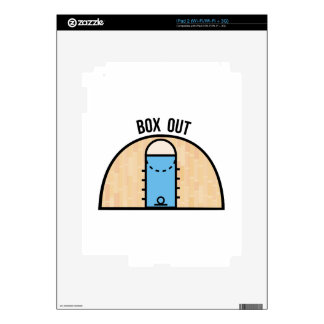 Box Out Skin For iPad 2