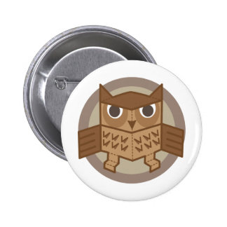 box owl buttons