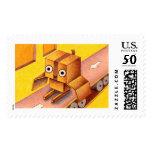 Box owl postage