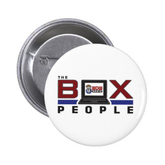 Box People Pinback Buttons